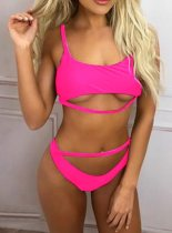 Cut-Out Two-piece Open Swimwear