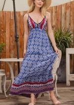 Seaside Bohemian Sapanlar Uzun Elbise