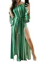Geniş Kollu Yüksek Kesim Uzun Kollu Yüksek Kesim Elbise