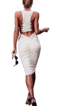 Sexy Lace-up Slimming Dress with Crunch Butt