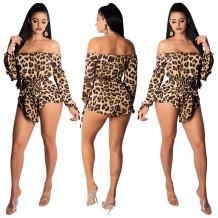 Spallacci leopardati con maniche