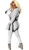 Sexy Zweiteilige Hose mit breiten Manschetten