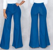 Wide Legges Blue Jeans