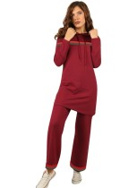 Long Sleeve Two-Piece Casual Pants Set