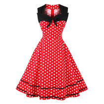 Sleeveless Vintaga Party Dress
