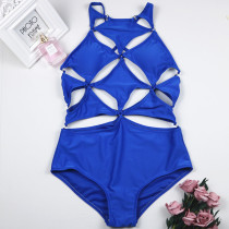 One-Piece Hollow Out Sleeveless Swimsuit