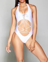 One-Piece Sexy Lace-Up Swimwear