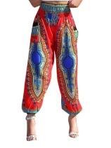 Pantalones boho de Dashiki africanos