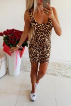 Imprimir leopardo vestido de tanque