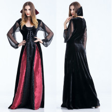 Red and Black Witch Costume