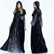 Schwarze Hexe Kostüm