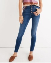Washing Out Blue High Waist Jeans