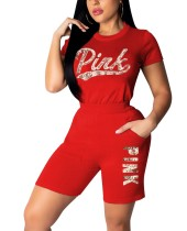 Imprimir camiseta deportiva y pantalones cortos