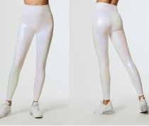 Sexy Fitness Metallic Leggings