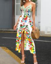 Yaz çiçek şal elbise