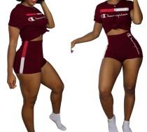 Chemise et short à imprimé sportif
