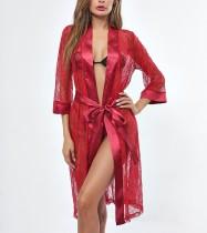 Red Lace Sexy nachtkleding