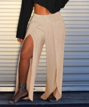 Sexy Loose Split Trousers
