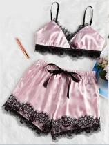 Lace Detailed Smoothly Bra and Shorts