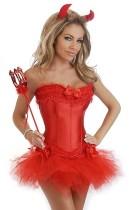 Sexy Red Evil Girls-kostuum