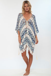Wavy Colorful Knit Cover Ups