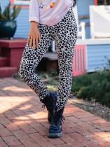 Stampa Leggings Leopard Basic