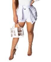 Pantalones cortos de mezclilla de bolsillo ajustados sexy