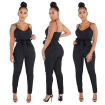 Sexy hoge tailleband Jumpsuit