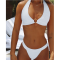 Sexy Two-Piece O-Ring Halter Swimwear