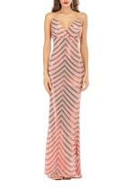Pailletten Riemen Meerjungfrau Abendkleid