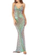 Paillettes bretelles robe de soirée sirène