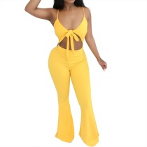Sexy Cut Out Straps Club Jumpsuit