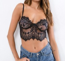 Party Sexy Transparent Lace Bra