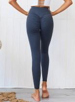 Sexy Fitness schiere Scrunch Yoga Leggings