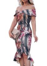 Çiçek tatlım denizkızı parti elbise
