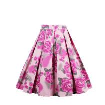 Винтажная юбка со складками