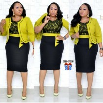 Afrikanische zweiteilige anständige formelle Kleidung