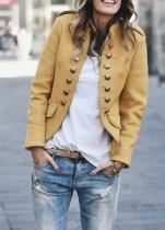 Vintage vintage blazer met knopen