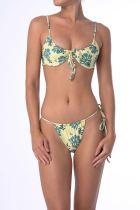 Traje de baño Micro Bikini con estampado de flores