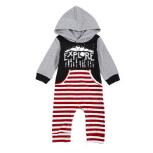 Kids Boy Print Fall Onesie Rompers