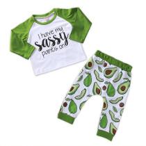 Комплект рубашки и брюк с длинным рукавом для мальчиков