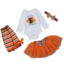 Conjunto de faldas Baby Girl Party 4 PCS