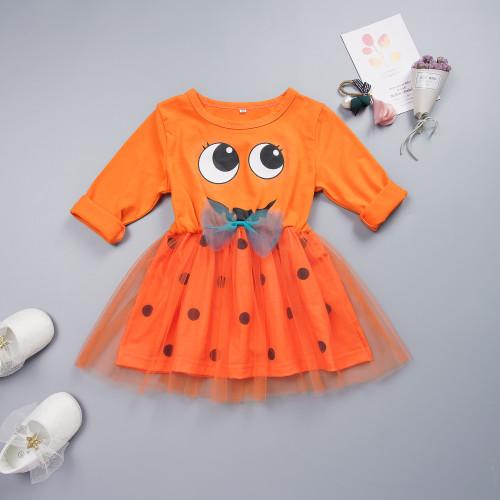 """Детское платье с принтом """"Леди"""" для девочек"""
