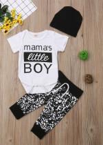 Baby Boy Print Sommer 3 PCS Set