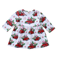 Kids Girl Christmas Candy Dress