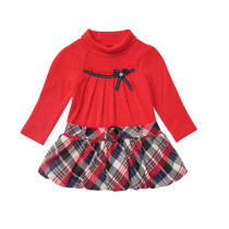 Kids Girl Birthday Party Красное платье