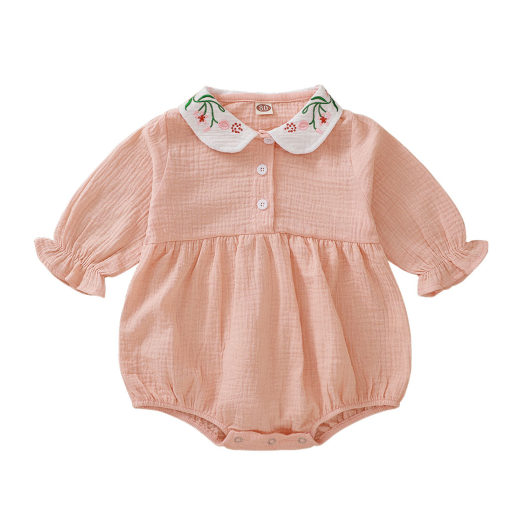 Baby Girl Organic Fall Rompertjes