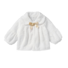 Kids Girl Princess White Plush Top