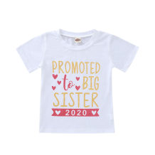 Kids Girl Print White Summer Shirt
