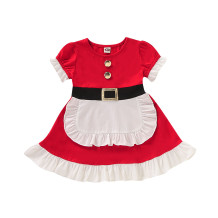 Robe Frenchmaid de Noël pour fille